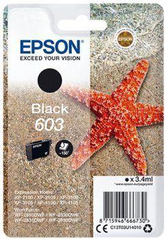 Epson toner do drukarki 603, czarny (C13T03U14010)