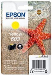 Epson 603, žltá (C13T03U44010)