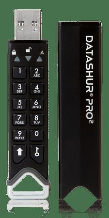 iStorage datAshur Pro2 varni USB ključ, 8 GB
