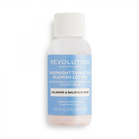 Makeup Revolution Péče o pleť Overnight Targeted Blemish Scincare (Blemish Lotion) 30 ml