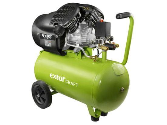 Extol Craft Kompresor olejový, 2200W, 50l