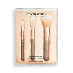 Makeup Revolution Sada kozmetických štetcov Mini ( Revolution Mini Brush Set)