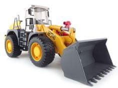 BRUDER Konštrukčné autá - Liebherr traktor s radlicou na upratovanie ciest 1:16
