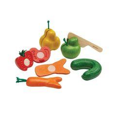 Plan Toys krajecí ovoce a zelenina