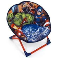 MARVEL COMICS dětská skládací židle s motivem Avangers