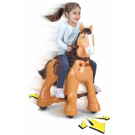 Feber jezdící kůň na baterii se zvukovými efekty