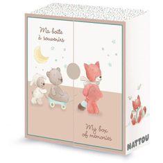 Nattou krabička na vzpomínky