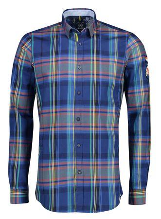Lerros 29D1013 moška srajca, modra, M