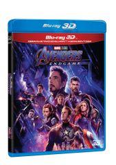 Avengers: Endgame 3D+2D (3 disky) - Blu-ray