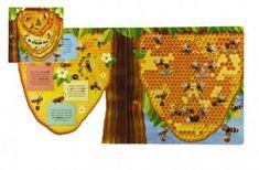 Albatros Knížka Co se děje ve včelím úlu 23x23x2cm 3+