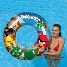 Bestway Nafukovací kruh veľký - Angry Birds, priemer 91 cm