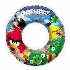 Bestway Nafukovací kruh - Angry Birds, priemer 56 cm