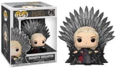 Funko POP Deluxe: GOT S10 - Daenerys Sitting on Throne