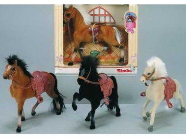 SIMBA Kôň Champ.Beauty, 19 cm, 4 druhy
