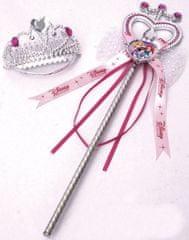 BOLEY Disney princezny - Čelenka a hůlka pro princeznu