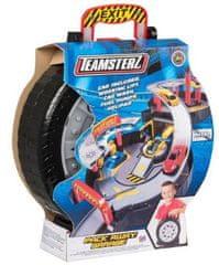 Alltoys Teamsterz garáž v pneumatice s autíčkem