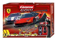 CARRERA Autodráha Carrera GO!!! 62487 High Speed Contes 8,6m + 2 auta