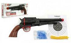Teddies Pistole na měkké a vodní kuličky o průměru 6mm