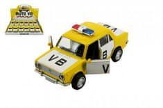 Teddies Auto policie VB Lada 1200 VAZ se zvukem a světlem na zpětný chod