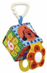 K´s Kids Úchytka na kočík - farebná kocka