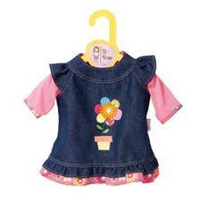 Zapf Creation Dolly Moda Džínové šatičky 38-46 cm