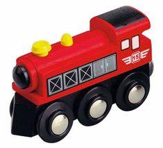 Maxim 50399 Parní lokomotiva - červená