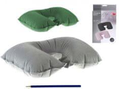 Mikro Trading Podhlavník nafukovací textilní 46x28cm