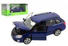 Dromader Auto Welly 2009 Škoda Fabia Combi II kov/plast 1:24 v krabici 23x10x11cm