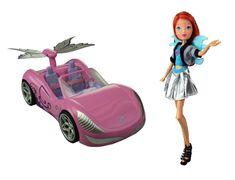 RAINBOW Winx: Bloom a magické auto
