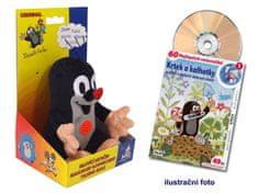 Moravská ústředna Krtek mluvící 15cm + DVD