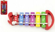 Teddies Xylofon plast/kov 25 cm