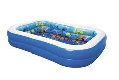 Bestway Nafukovací bazének 3D, 2,62m x 1,75m x 51cm