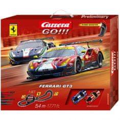 CARRERA Autodráha Carrera GO!!! 62458 Ferrari GT3 5,4m