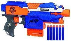 NERF Elite Stryfe - Automatická pistole s klipovým zásobníkem