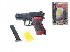 Mikro Trading Pistole na kuličky plast 11cm s kuličkami