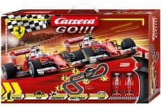 CARRERA Autodráha Carrera GO!!! 62505 Ferrari Race Spirit 5,3m + 2 formule