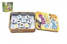 Bonaparte Catz-Ratz-Batz společenská hra v plechové krabičce 8x10x4cm v krabičce 13x13x8cm