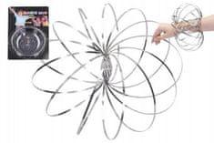 Wiky Magic ring kovová spirála pružina průměr 13cm na kartě 16x24cm