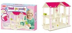 SMT Creatoys Domek pro panenky dřevěný skládačka