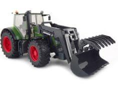 BRUDER Farmer - traktor Fendt 936 Vario s predným nakladačom