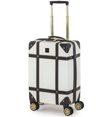 Rock Cestovní kufr TR-0193/3-S ABS - krémová