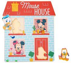 Derrson Disney Dřevěné puzzle Domeček pro nejmenší