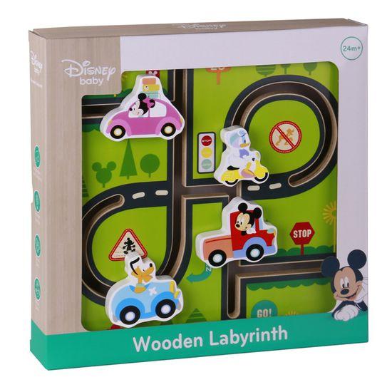 Derrson Disney Dřevěný motorický labyrint Mickeyho svět