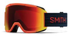 Smith Squad skijaške naočale, crvene / crne