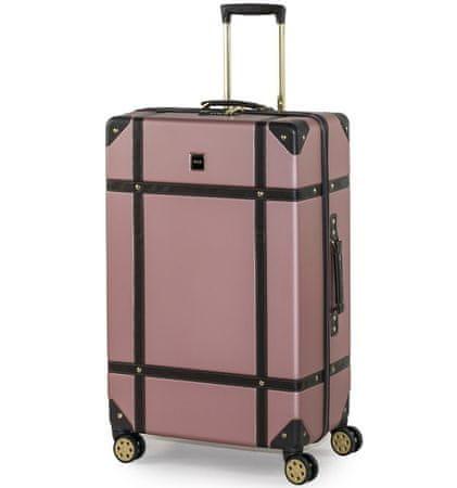 Rock Cestovní kufr TR-0193/3-L ABS - růžová