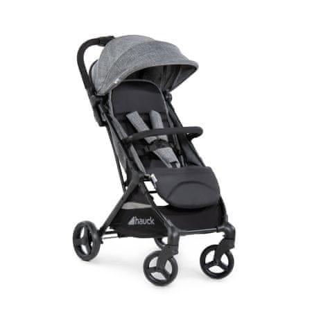 Hauck otroški voziček Eagle 2020, melange grey