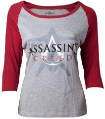 Difuzed Tričko dámské Assassins Creed - Crest Logo (velikost L)