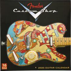 Fender 2020 Custom Shop Wall Calendar Darčekový predmet