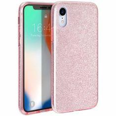 Bling ovitek za Apple iPhone 11 Pro Max, silikonski, roza z bleščicami