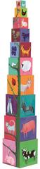Djeco Krabičková veža Príroda a zvieratká